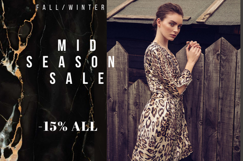 ⭐️ Mid Season SALE ⭐️  ALL -15% OFF ⭐️ Only 10 days!
