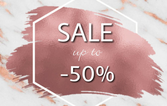 SALE❗ SALE❗ SALE❗ ALL up to -50% OFF!