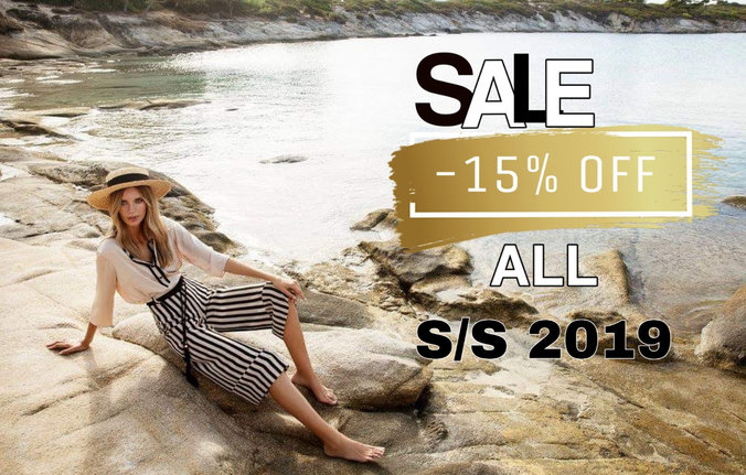 ☀  MID SEASON SALE  ☀  - 15% OFF АLL ❗ ☀  Only until May 10th