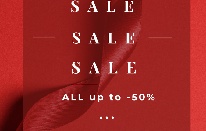 ♥️ SALE! SALE! SALE! All up to -50% OFF  ♥️  Don't miss it  ❤️